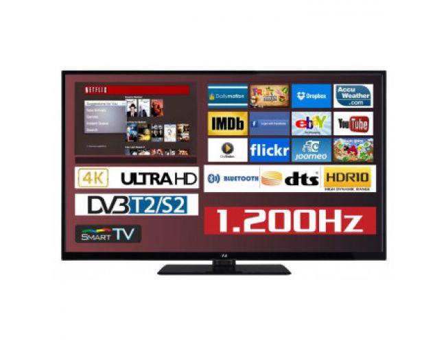 F&U FL2D5505UH Smart Tηλεόραση LED