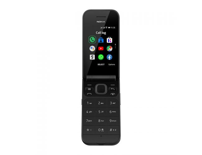 Nokia 2720 Flip DS Black Κινητό Τηλέφωνο