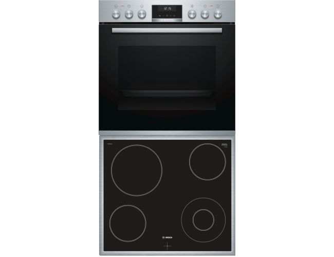 Bosch BA53CN00 (HEA537BS00 + NKF645GA1G) Σετ Κουζίνα Εστία