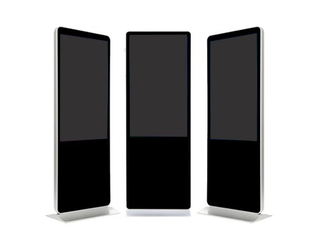 "Amber 43"" Digital Signage Touchscreen Info Kiosk"