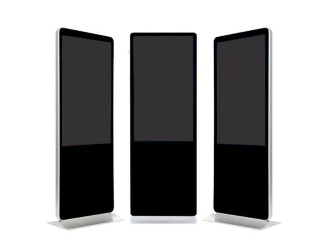 "Amber 65"" Digital Signage Touchscreen Info Kiosk"