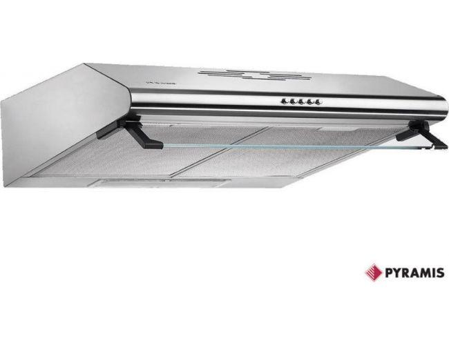 Pyramis Essential Απλός 60cm INOX Απορροφητήρας 065029501