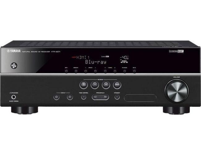 Yamaha HTR-2071 5.1ch Black Ραδιοενισχυτής