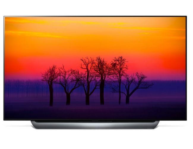 LG 55C8 Smart Τηλεόραση OLED με Δορυφορικό Δέκτη