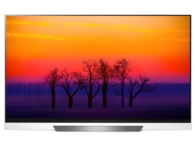 LG 65E8 Smart Τηλεόραση OLED με Δορυφορικό Δέκτη
