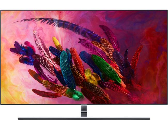 Samsung QE55Q7FN Smart Τηλεόραση QLED με Δορυφορικό Δέκτη