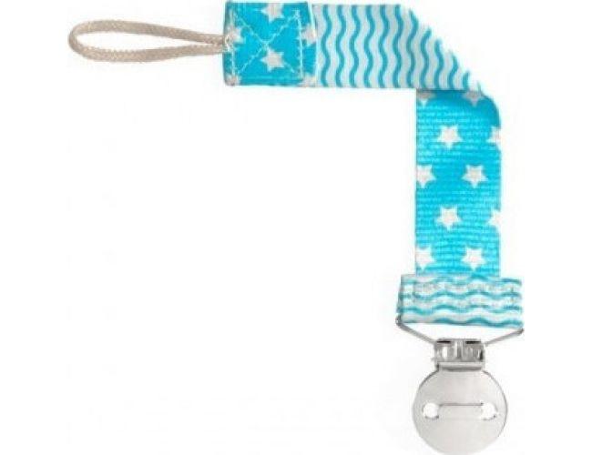 Chicco Fashion Blue Κλιπ Πιπίλας