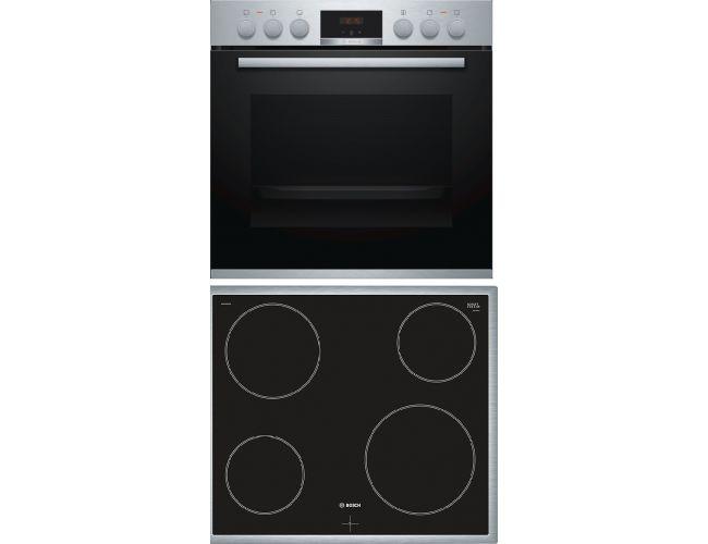Bosch BA51CN00 (HEA514BS00 + NKF645GA1G) Σετ Κουζίνα Εστία