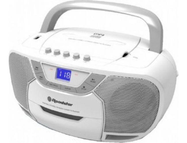 Roadstar RCR-4625 Λευκό Φορητό Ράδιο-CD