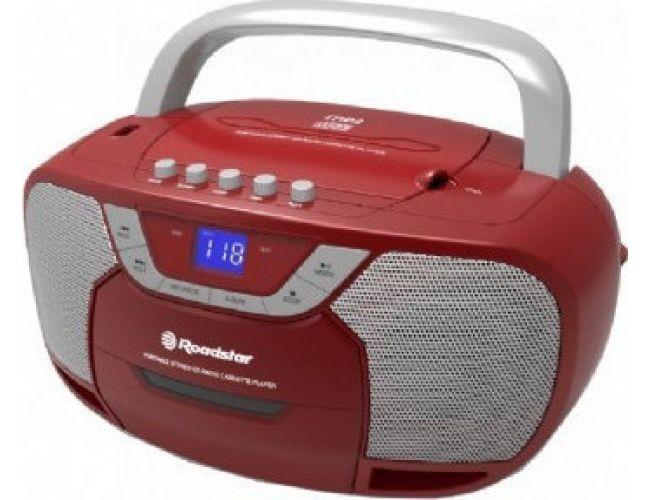 Roadstar RCR-4625 Κόκκινο Φορητό Ράδιο-CD