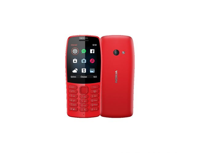 Nokia 210 DS Red Κινητό Τηλέφωνο