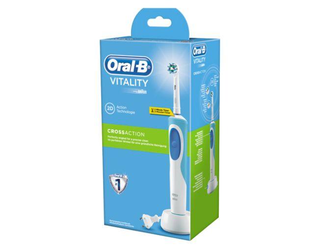 Oral-B Vitality CrossAction Επαναφορτιζόμενη Ηλεκτρική Οδοντόβουρτσα