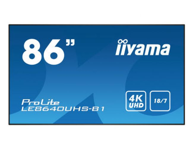 Iiyama ProLite LE8640UHS-B1 Επαγγελματική Οθόνη
