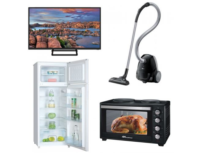 Φοιτητικό Πακέτο Νο3 2019 ( Ψυγείο , Κουζίνα, Τηλεόραση, Σκούπα )