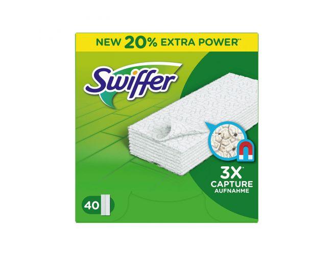 Swiffer Ανταλλακτικά πανάκια Καθαρισμού Δαπέδων 40τεμ.
