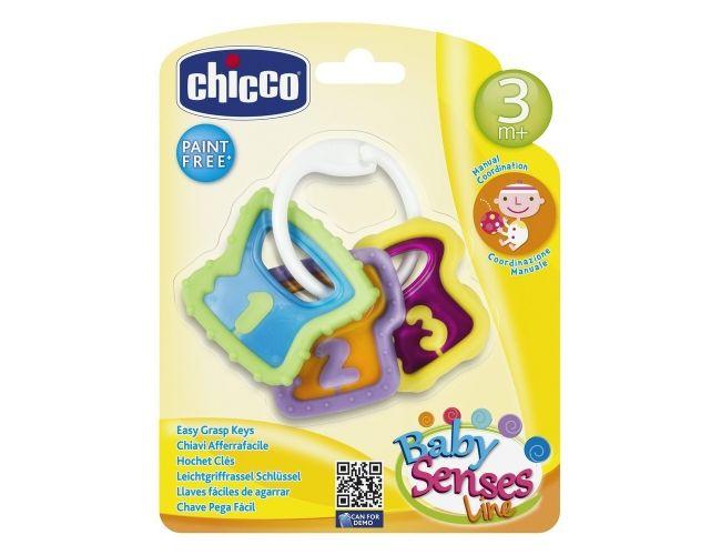 Chicco Χρωματιστά Κλειδιά 3m+ 1τμχ 05953-00
