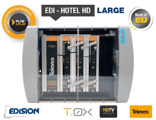 Edision Edi - Hotel HD Large Δορυφορικός Δέκτης