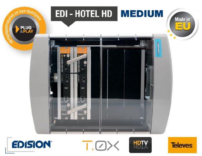 Edision Edi - Hotel HD Medium Δορυφορικός Δέκτης