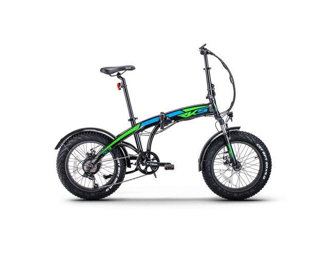 ESF TNT15 Ηλεκτρικό Ποδήλατο Μαύρο