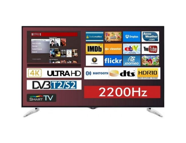 F&U FL2D7503UH Smart Tηλεόραση LED