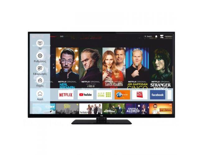 F&U FL2D4306UH Smart Tηλεόραση LED