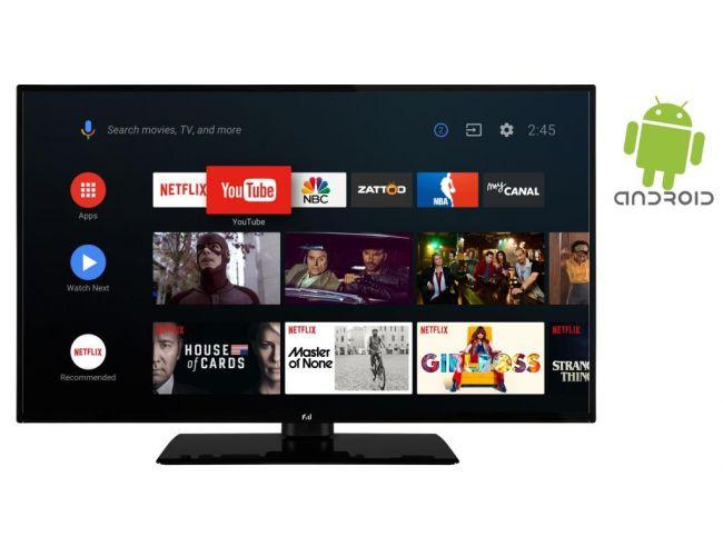 F&U FLΑ5020UΗ Ultra HD Smart Android Τηλεόραση LED