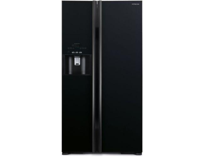 Hitachi R-S700GPRU2 (GBK) Ψυγείο Ντουλάπα Mαύρο