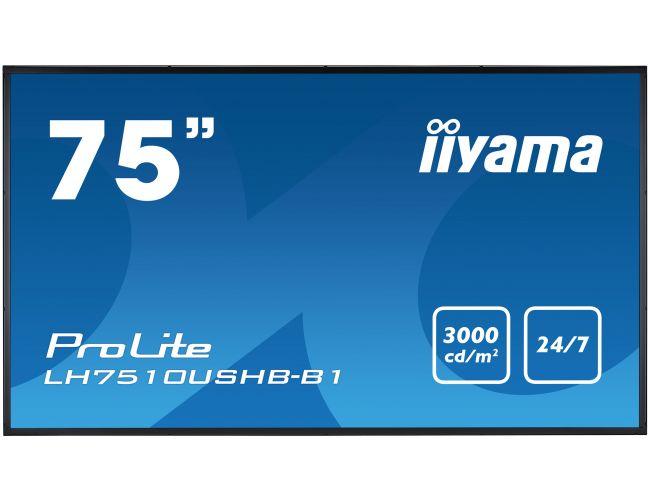 Iiyama ProLite LH7510USHB-B1 Επαγγελματική Οθόνη