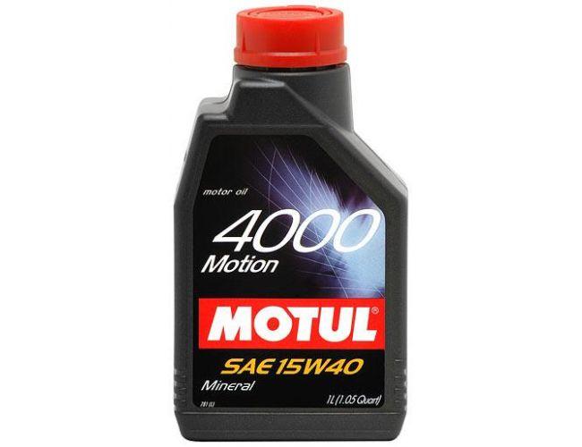 MOTUL 4000 MOTION 15W40 1 L