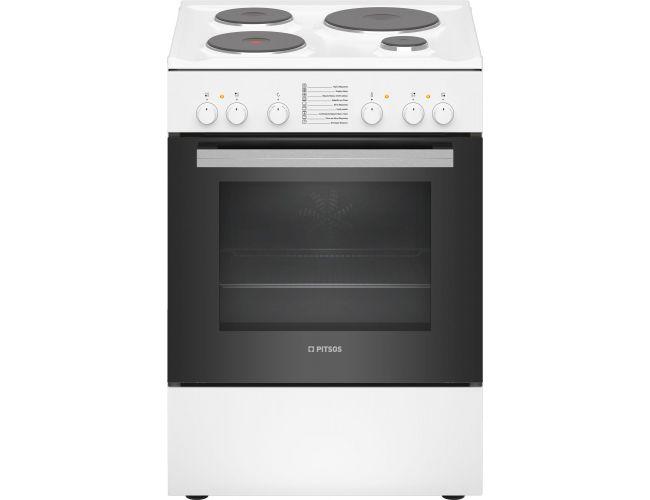 Pitsos PHA009020 Ηλεκτρική Εμαγιέ Κουζίνα