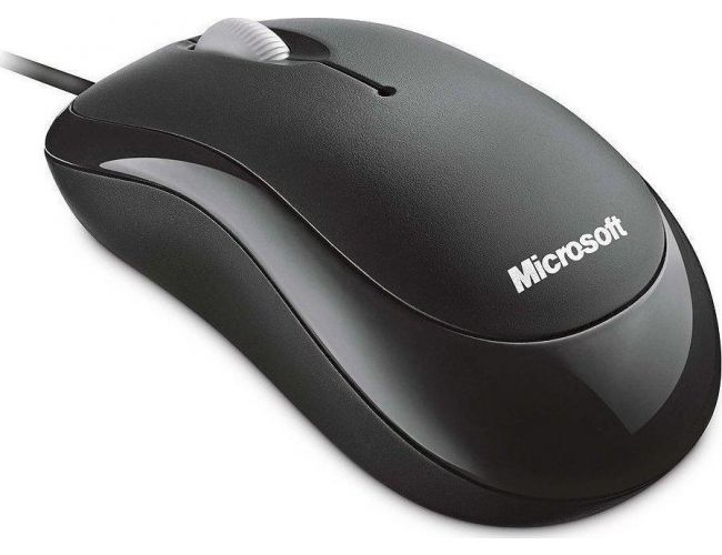 Microsoft Basic Optical Mouse Bk