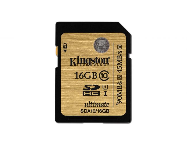 Kingston SDHC UHS-I Ultimate SDA10/16GB