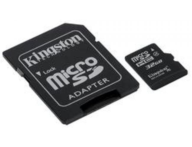 Kingston Micro SDHC 32GB + Adapter SDC4/32GB