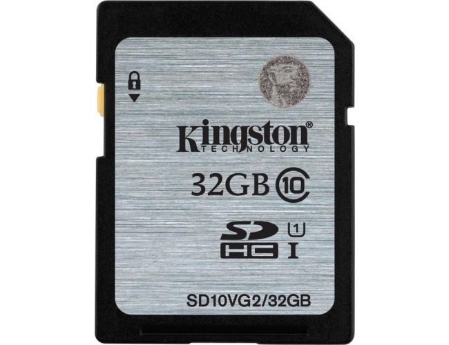 Kingston SDHC UHS-I 32GB SD10VG2/32GB