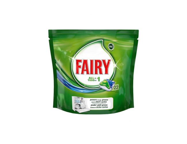 Fairy Original Caps Πλυντηρίου Πιάτων Regular 22 Τεμάχια