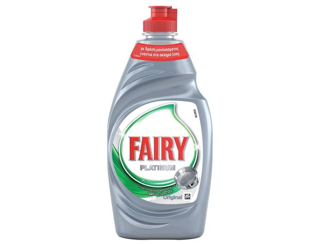 Fairy Υγρό  πιάτων Platinum Original 400ml