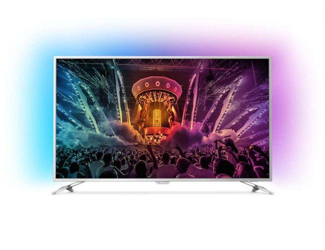 Philips 65PUS6521/12 Ambilight Smart Τηλεόραση LED με Δορυφορικό Δέκτη