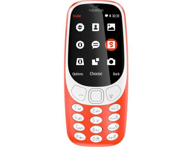 Nokia 3310 DS Warm Red Κινητό Τηλέφωνο