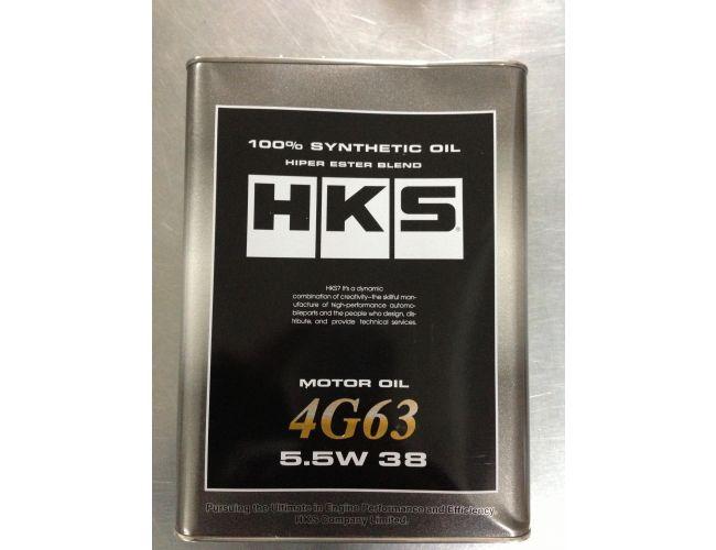 HKS SUPER OIL 5,5W-38 100% SYNTHETIC 4G63 4L