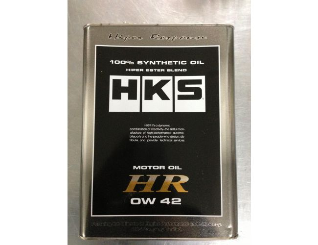 HKS SUPER OIL 0W-42 100%SYNTHETIC 4L