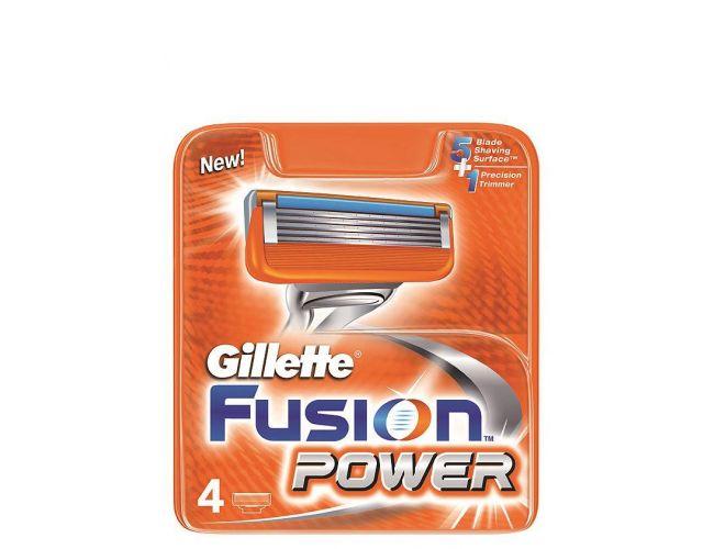 Gillette ανταλλακτικά Fusion Power  4 τεμ.