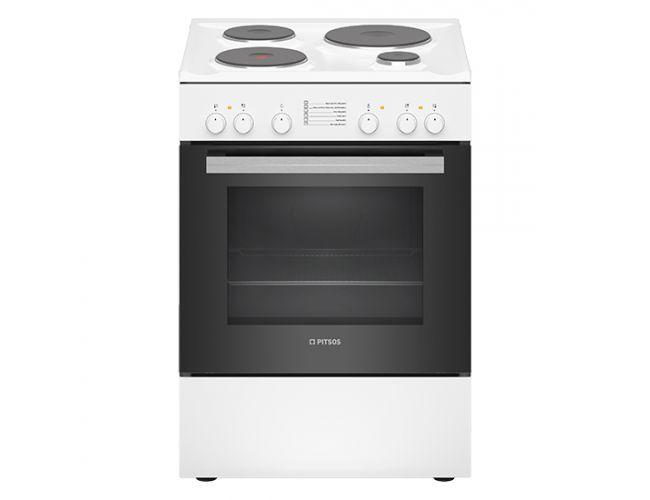 Pitsos PHA005020 Ηλεκτρική Εμαγιέ Κουζίνα
