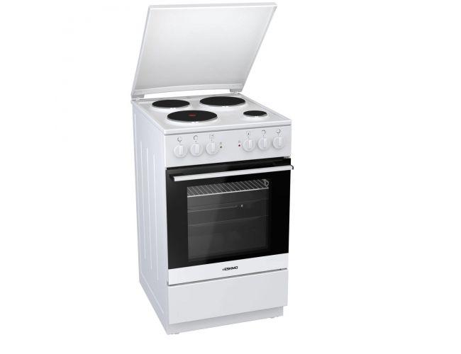 Eskimo ΕS 5050 W Ηλεκτρική Εμαγιέ Κουζίνα