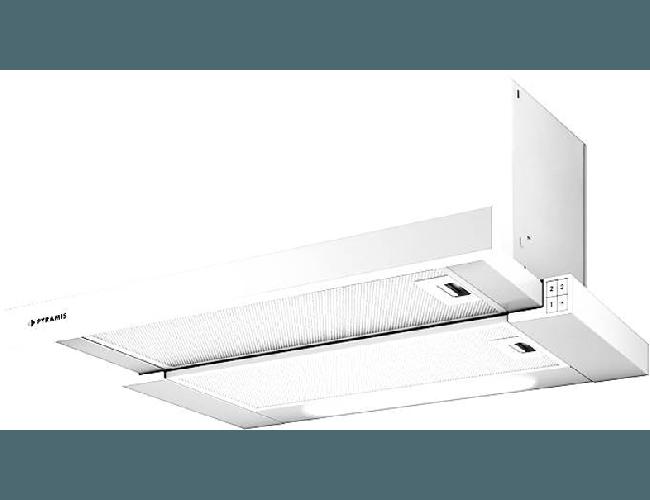 Pyramis Essential Turbo 065017302 Συρόμενος Απορροφητήρας Λευκός 60cm