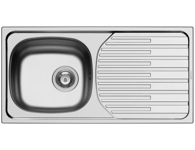 Pyramis Fork 86x43.5cm Σατινέ Inox Ένθετος Νεροχύτης 100145301