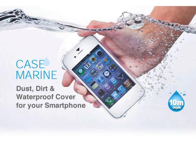Case Marine για iPhone - Τransparent