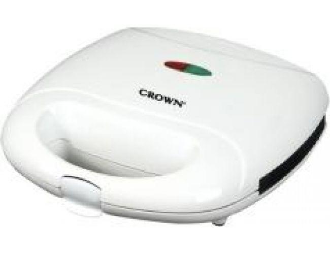Crown CSM-759 Λευκή Τοστιέρα