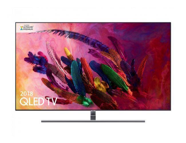 Samsung QE75Q7FN Smart Τηλεόραση QLED με Δορυφορικό Δέκτη