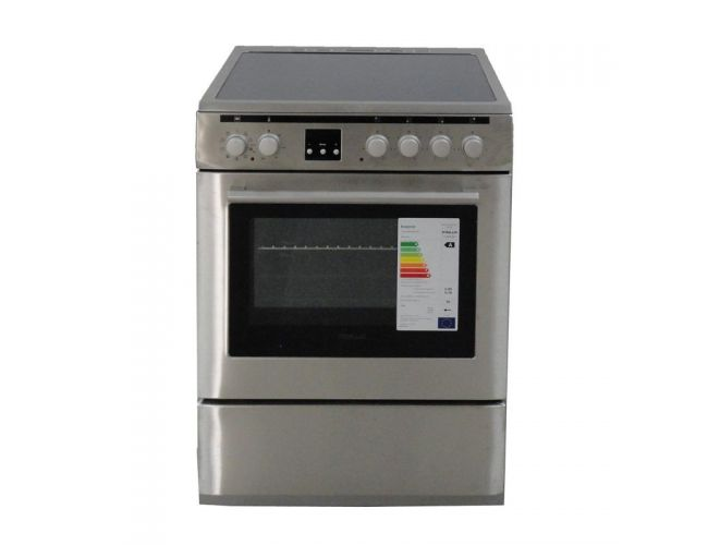 Finlux FLCM 6000A IX Ηλεκτρική Κεραμική Κουζίνα