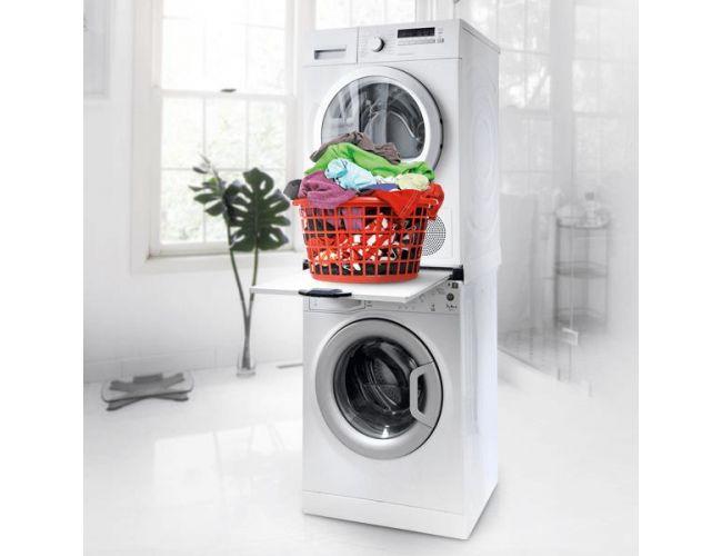 Roller Βάση Σύνδεσης Πλυντηρίου - Στεγνωτηρίου με Συρτάρι